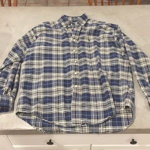 Ralph Lauren plaid button down size Medium